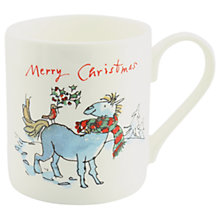 Buy McLaggan Smith Quentin Blake Horse and Robin Mug, 300ml Online at johnlewis.com