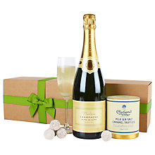 Buy Waitrose Champagne & Truffles Gift Online at johnlewis.com