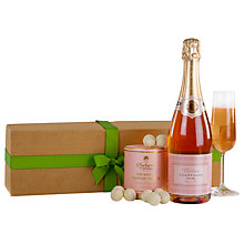 Buy Waitrose Pink Champagne & Truffles Gift Online at johnlewis.com