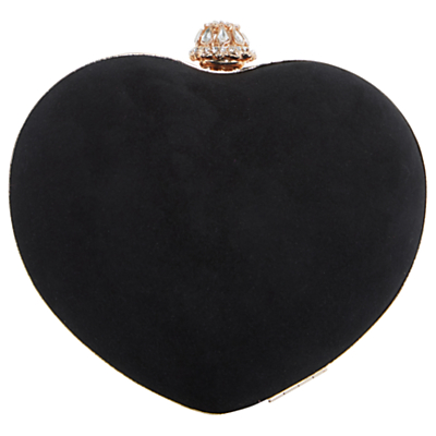 Dune Babe Heart Clutch Bag