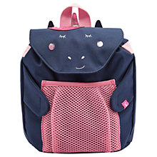 Buy Joules Unicorn Children's Backpack, Navy Blue/Pink Online at johnlewis.com