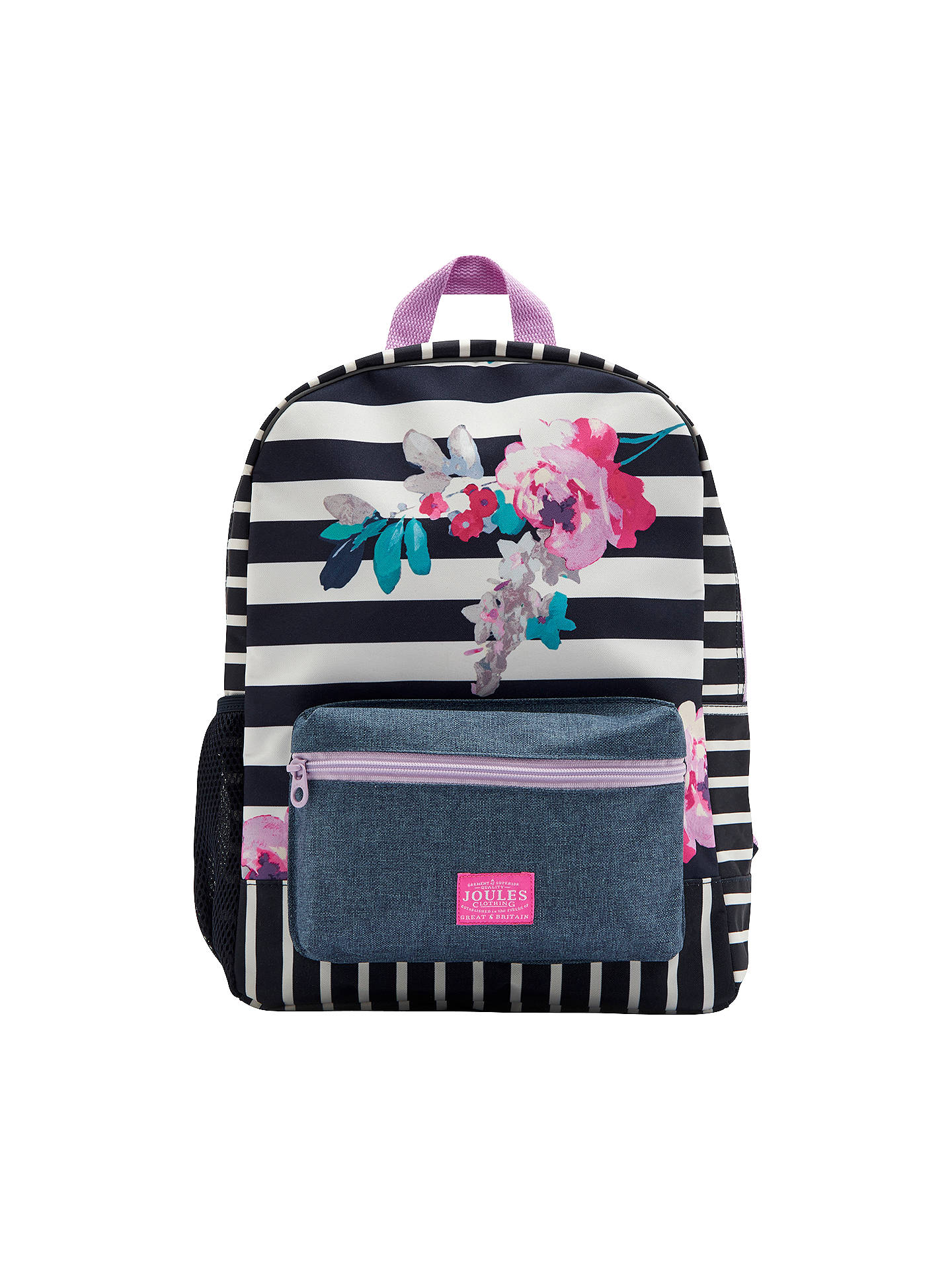e9c9a3c695 Buy Joules Margate Floral Children's Backpack Online at johnlewis. ...