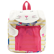 Buy Joules Bunny Children's Backpack, Pink/Yellow Online at johnlewis.com