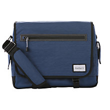 Buy Antler Urbanite Evolve Messenger Bag, Navy Online at johnlewis.com