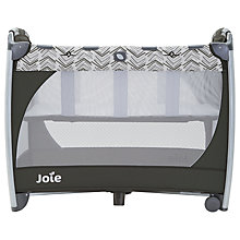 Buy Joie Excursion Change & Bounce Travel Cot, Grey Online at johnlewis.com