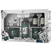 Buy Sipsmith Hot Gin & Tonic Sipping Set Online at johnlewis.com