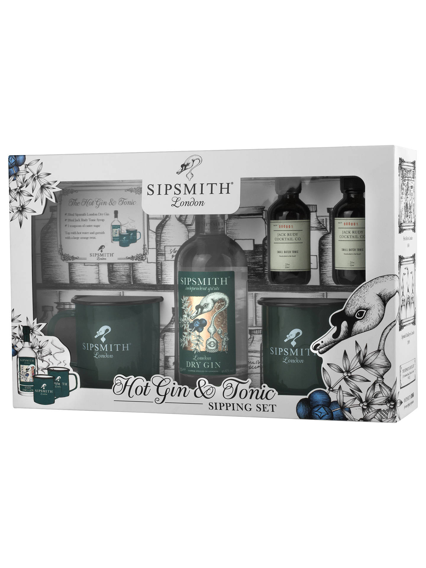 BuySipsmith Hot Gin & Tonic Sipping Set Online at johnlewis.com