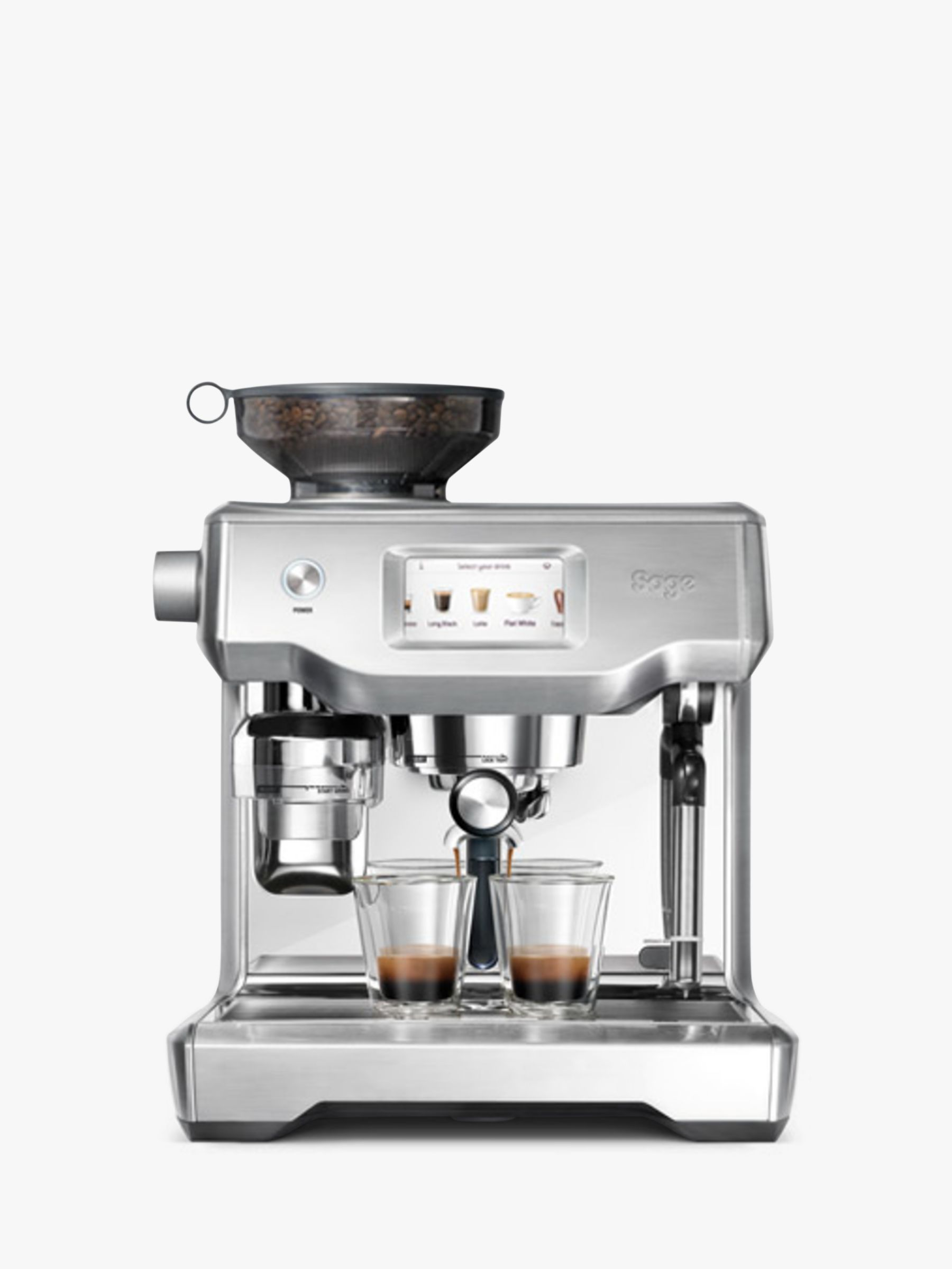 Sage Oracle Touch Fully Automatic Bean To Cup Coffee Machine Brushed Stainless Steel