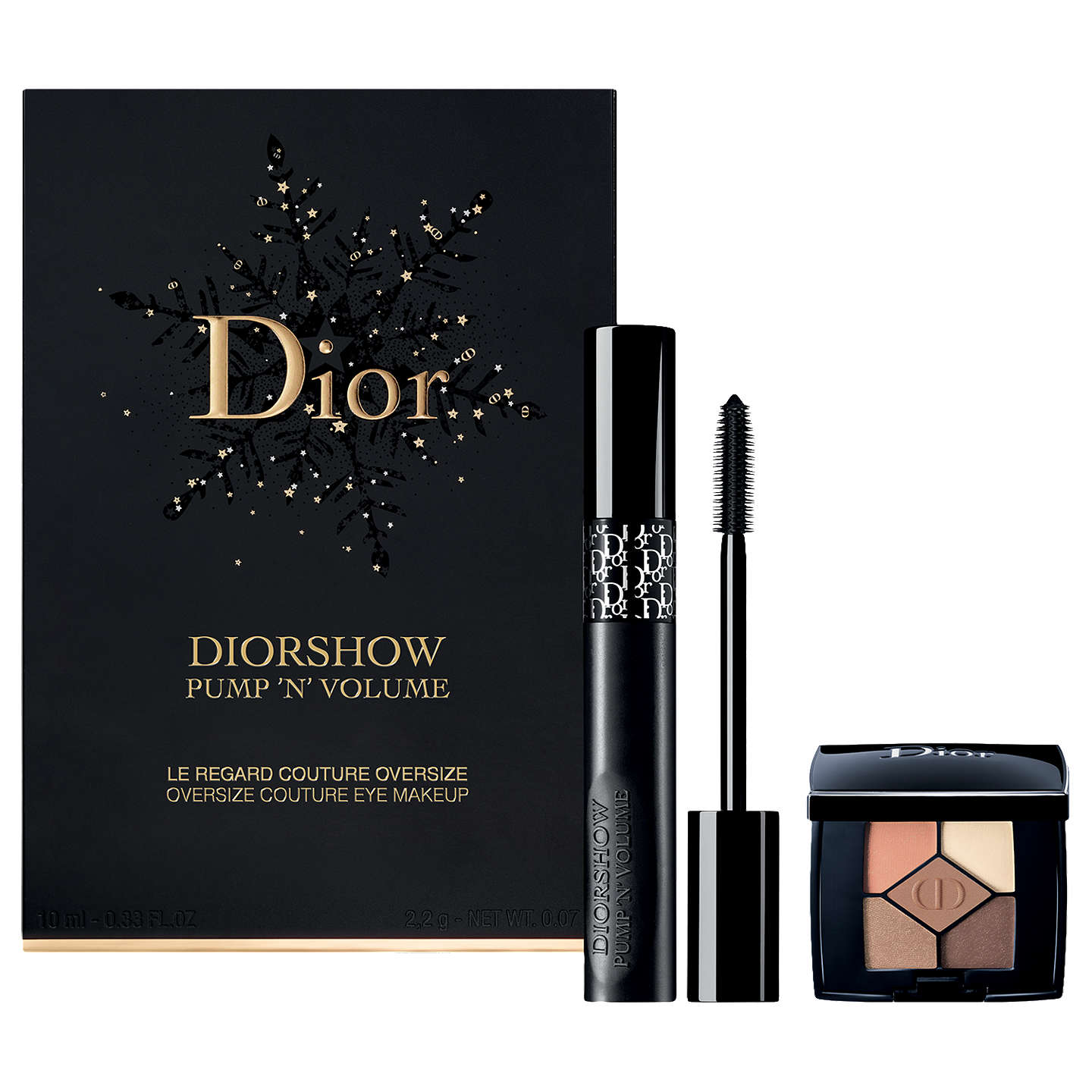 BuyDior Diorshow Pump 'N' Volume Mascara Makeup Gift Set Online at johnlewis.com
