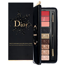 Buy Dior Couture Wardrobe Eye & Lip Palette, Multi Online at johnlewis.com