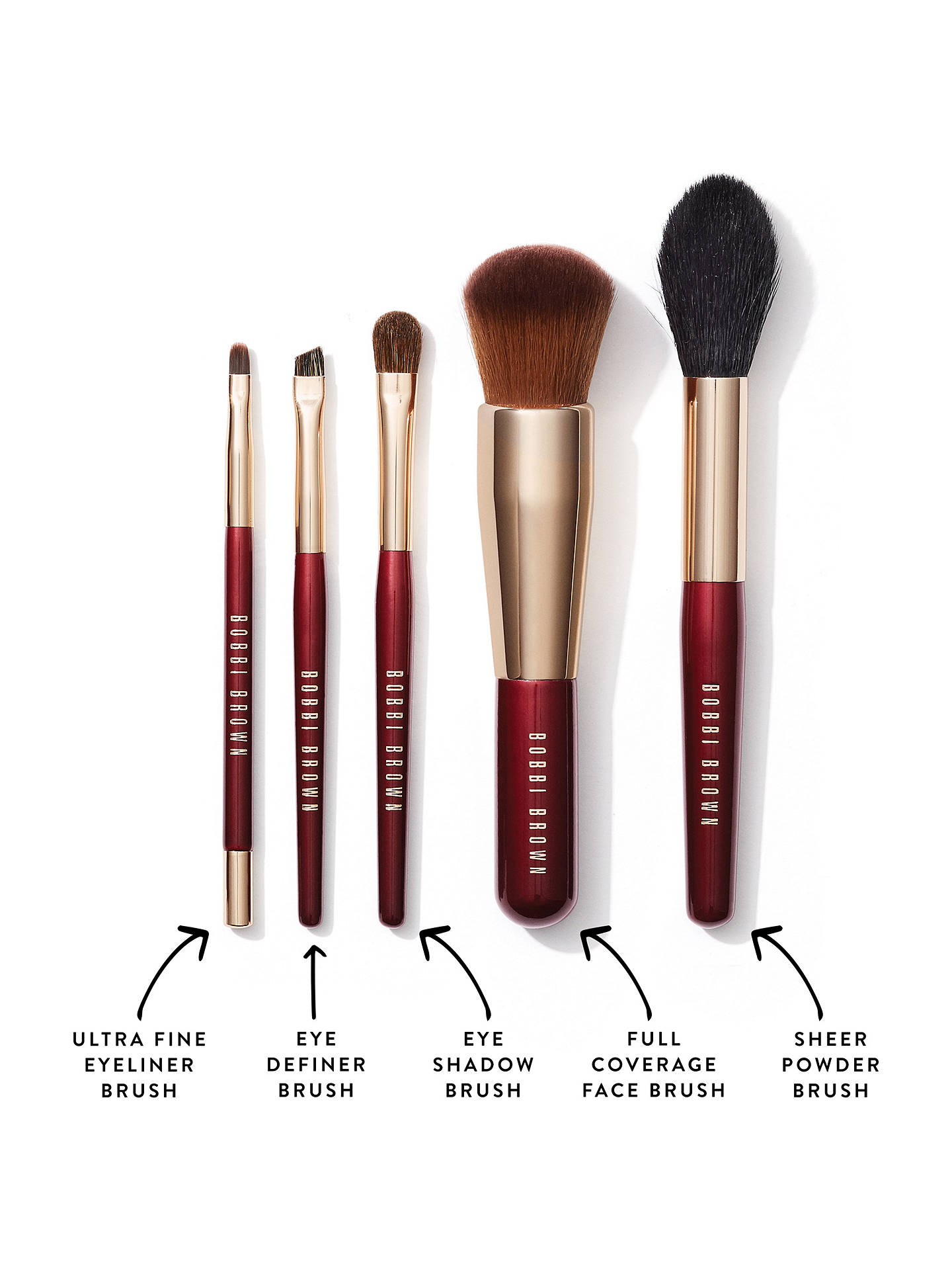 ... Buy Bobbi Brown Makeup Brush Travel Set Online at johnlewis.com ...