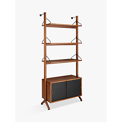 John Lewis & Partners Soren Narrow 3 Shelf Storage Unit