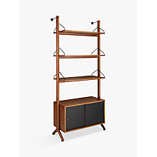 Buy John Lewis Soren Narrow 3 Shelf Storage Unit Online at johnlewis.com