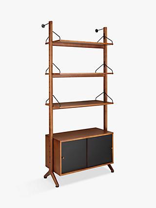 John Lewis Partners Soren Narrow 3 Shelf Storage Unit