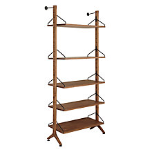 Buy John Lewis Soren Narrow 5 Shelf Storage Unit Online at johnlewis.com