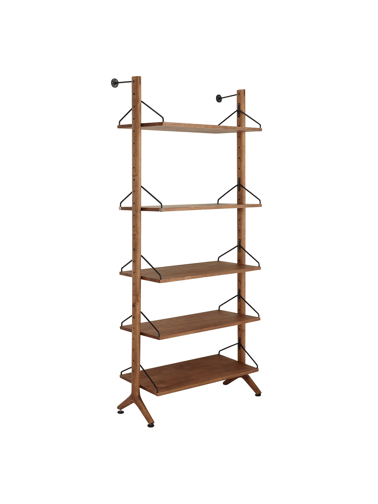 34dbdc3b5918 Buy John Lewis & Partners Soren Narrow 5 Shelf Storage Unit Online at  johnlewis. ...