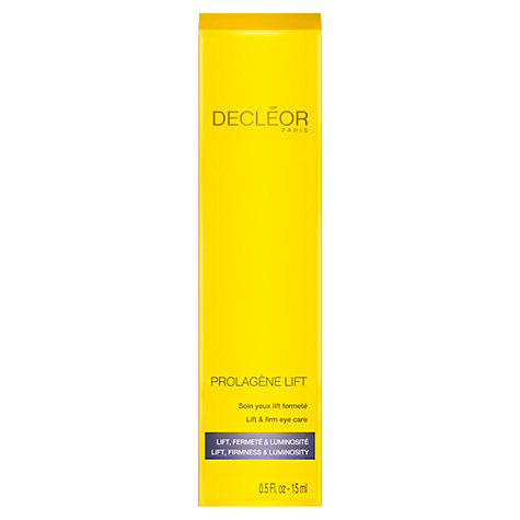 Buy Decléor Prolagene Lift & Firm Eye Care, 15ml Online at johnlewis.com