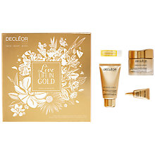 Buy Decléor Live Life In Gold Skincare Gift Set Online at johnlewis.com