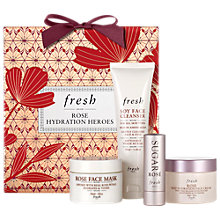 Buy Fresh 'Rose Hydration Heroes' Skincare Gift Set Online at johnlewis.com