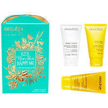 Buy Decléor '1,2,3 New Skin, Happy Me' Body Trio Kit Online at johnlewis.com