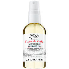 Buy Kiehl's Creme de Corps Nourishing Body Oil Online at johnlewis.com