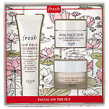 Buy Fresh 'Facial On The Fly' Skincare Gift Set Online at johnlewis.com
