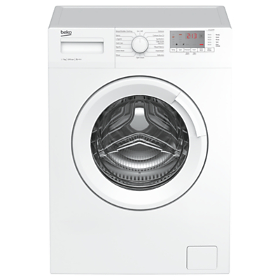 Image of Beko WTG721M1W Freestanding Washing Machine, 7kg Load, A+++ Energy Rating, 1200rpm Spin, White