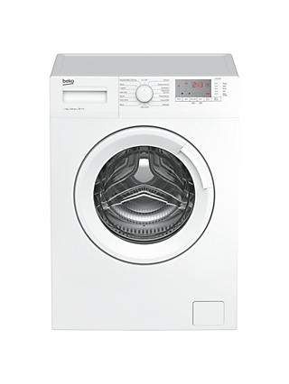 Beko WTG721M1W Freestanding Washing Machine, 7kg Load, A+++ Energy Rating, 1200rpm Spin, White