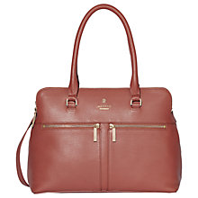 Buy Modalu Pippa Classic Leather Grab Bag Online at johnlewis.com