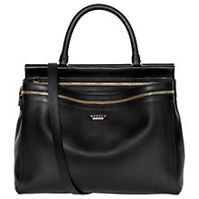 Buy Modalu Billie Leather Grab Bag Online at johnlewis.com