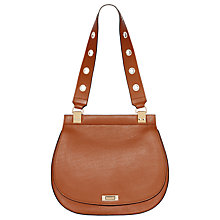 Buy Modalu Trudy Leather Saddle Bag Online at johnlewis.com
