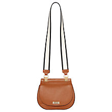 Buy Modalu Trudy Leather Mini Saddle Bag Online at johnlewis.com