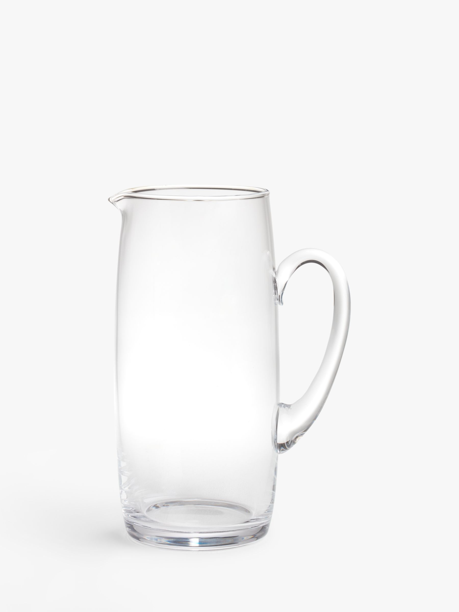 House by John Lewis House by John Lewis Glass Drinks Jug, Clear, 1.85L