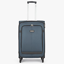 Buy Samsonite Caphir 69cm 4-Spinner Wheels Suitcase, Grey Online at johnlewis.com
