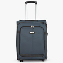 Buy Samsonite Caphir 55cm 2-Wheel Cabin Case, Grey Online at johnlewis.com