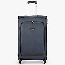Buy Samsonite Caphir 80cm 4-Spinner Wheels Suitcase, Grey/Black Online at johnlewis.com
