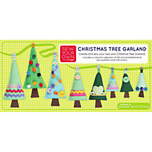 Buy Sew Your Own Christmas Tree Garland Kit Online at johnlewis.com