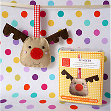 Buy Sew Your Own Reindeer Decoration Kit Online at johnlewis.com