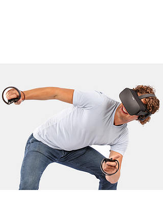 Buy Oculus Rift Virtual Reality Headset and Touch Controllers Online at johnlewis.com