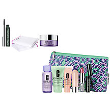 Buy Clinique Impact Mascara, Take The Day Off Cloth and Cleansing Balm with Gift Online at johnlewis.com