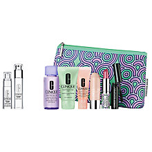 Buy Clinique Smart Custom Serum and Custom Repair Eye Treatment with Gift Online at johnlewis.com