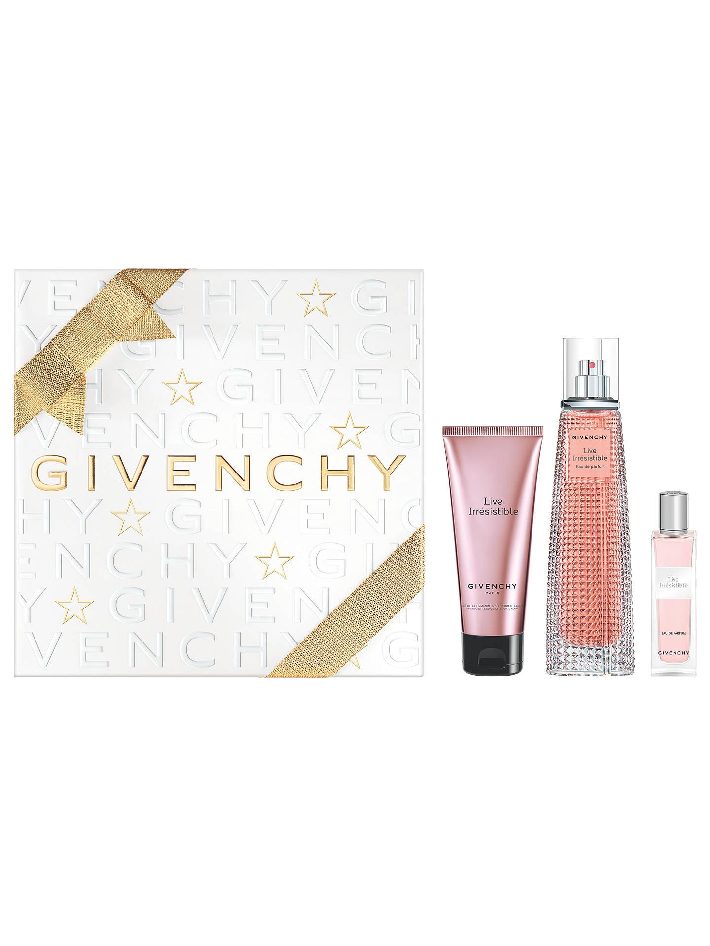 a8e6236a6b Buy Givenchy Live Irrésistible 75ml Eau de Parfum Fragrance Gift Set Online  at johnlewis.com