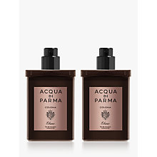 Buy Acqua di Parma Colonia Ebano Eau de Cologne Concentrée Travel Spray Refill, 2 x 30mls Online at johnlewis.com