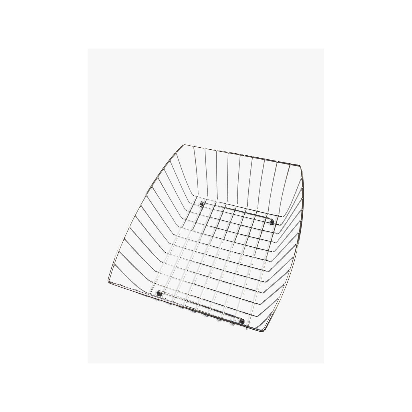 Clearwater Sonnet Kitchen Sink Wire Draining Basket, Large