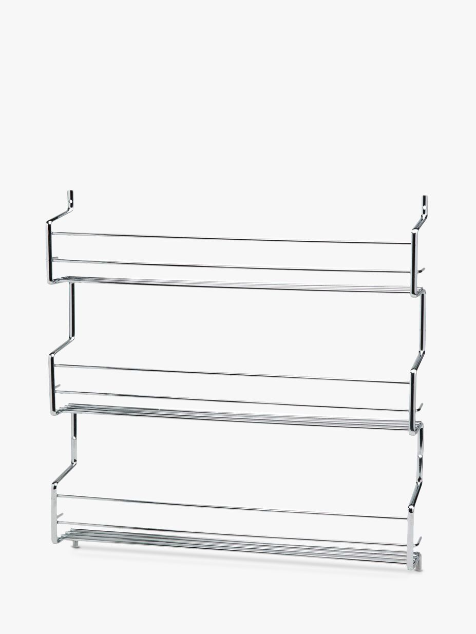 Hahn Hahn Wall-Mounted Steel Spice Rack with 3 Shelves