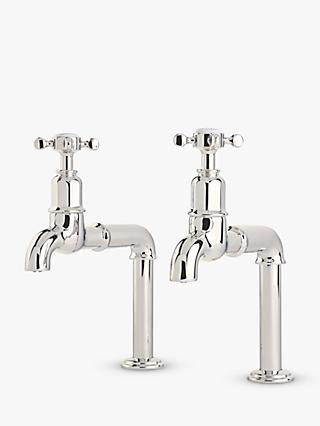 Perrin & Rowe Mayan 4338 Crosshead Kitchen Taps, Nickel