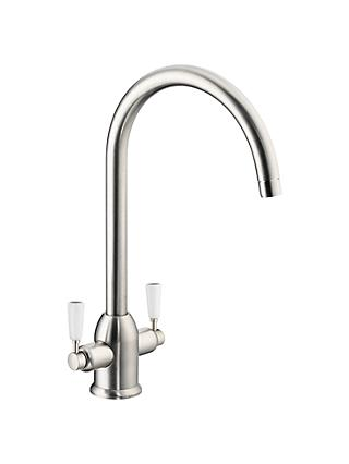 John Lewis & Partners Move 2 Lever Mixer Kitchen Tap