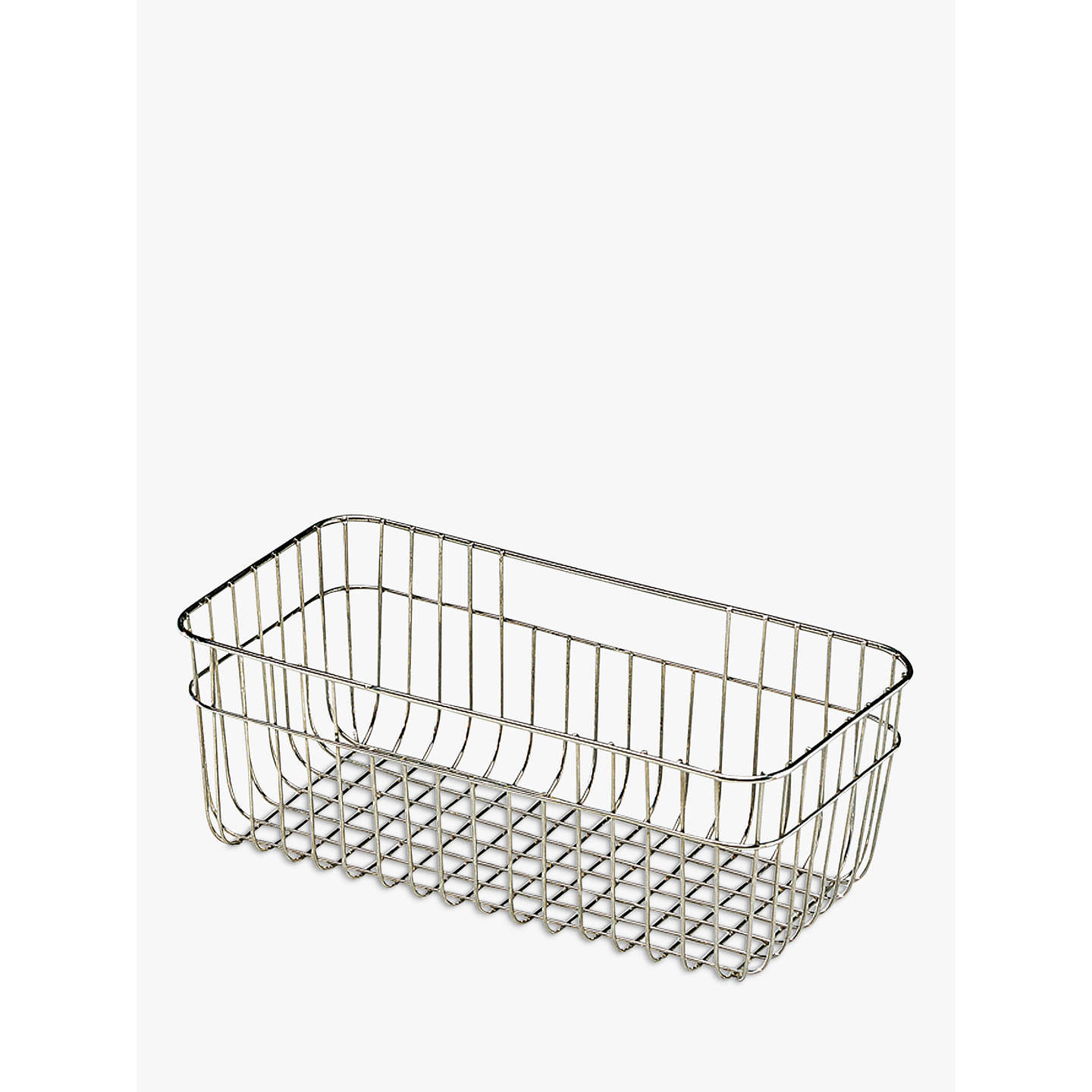 Clearwater Sonnet Kitchen Sink Wire Draining Basket, Small at John Lewis