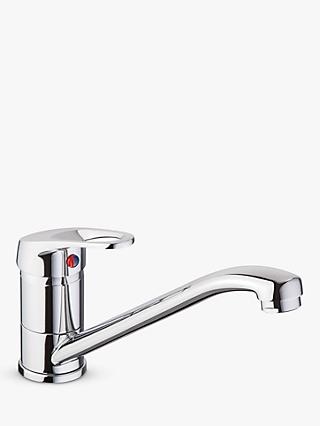 John Lewis & Partners Sing Single Lever Kitchen Tap, Chrome