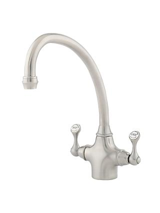 Perrin & Rowe Etruscan 4320 2 Lever Mixer Kitchen Tap